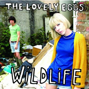 the lovely eggs, wildlife, clear frosted vinyl lp, egg