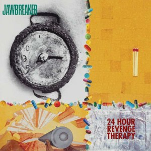 Jawbreaker, 24 Hour Revenge Therapy, Blood Red Vinyl LP, CD.