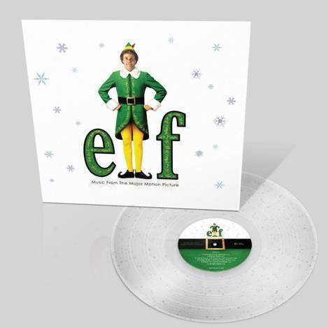 Elf The Movie OST, Ltd Edition Glitter Vinyl LP.