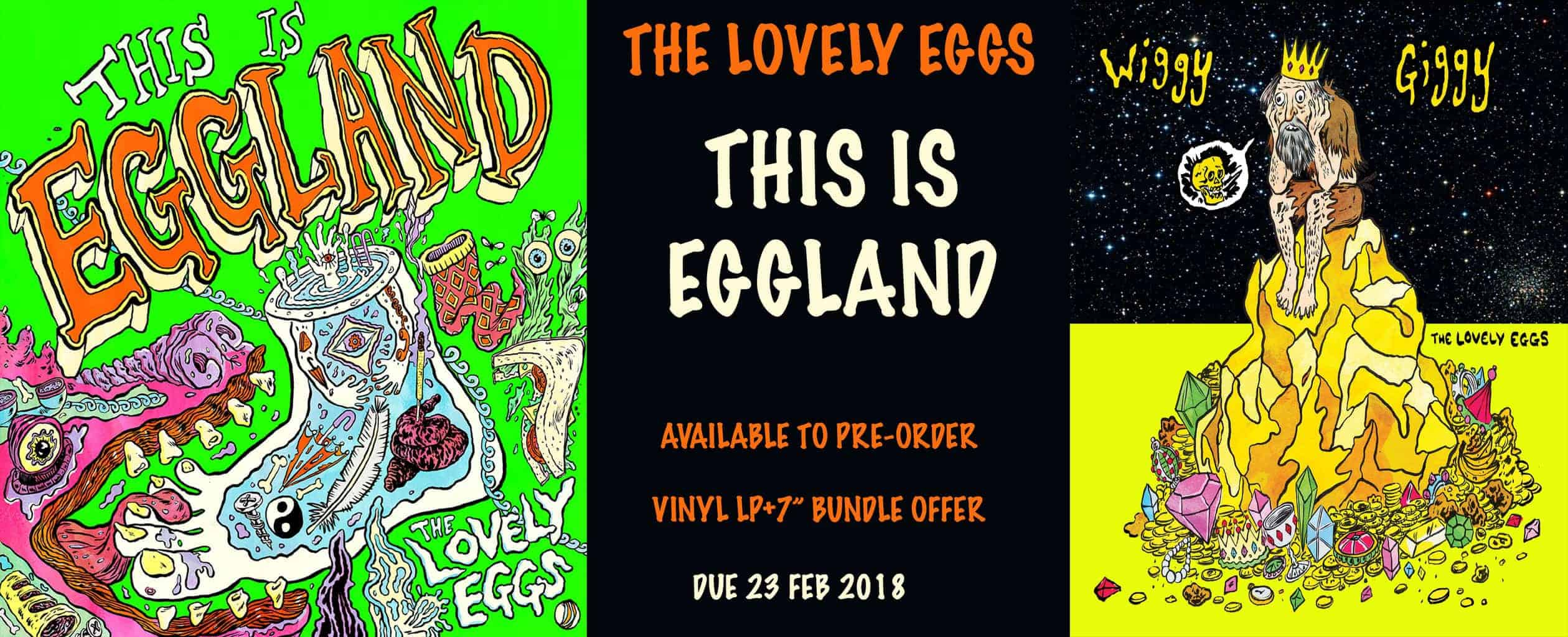 the lovely eggs, this is eggland, vinyl lp, cd