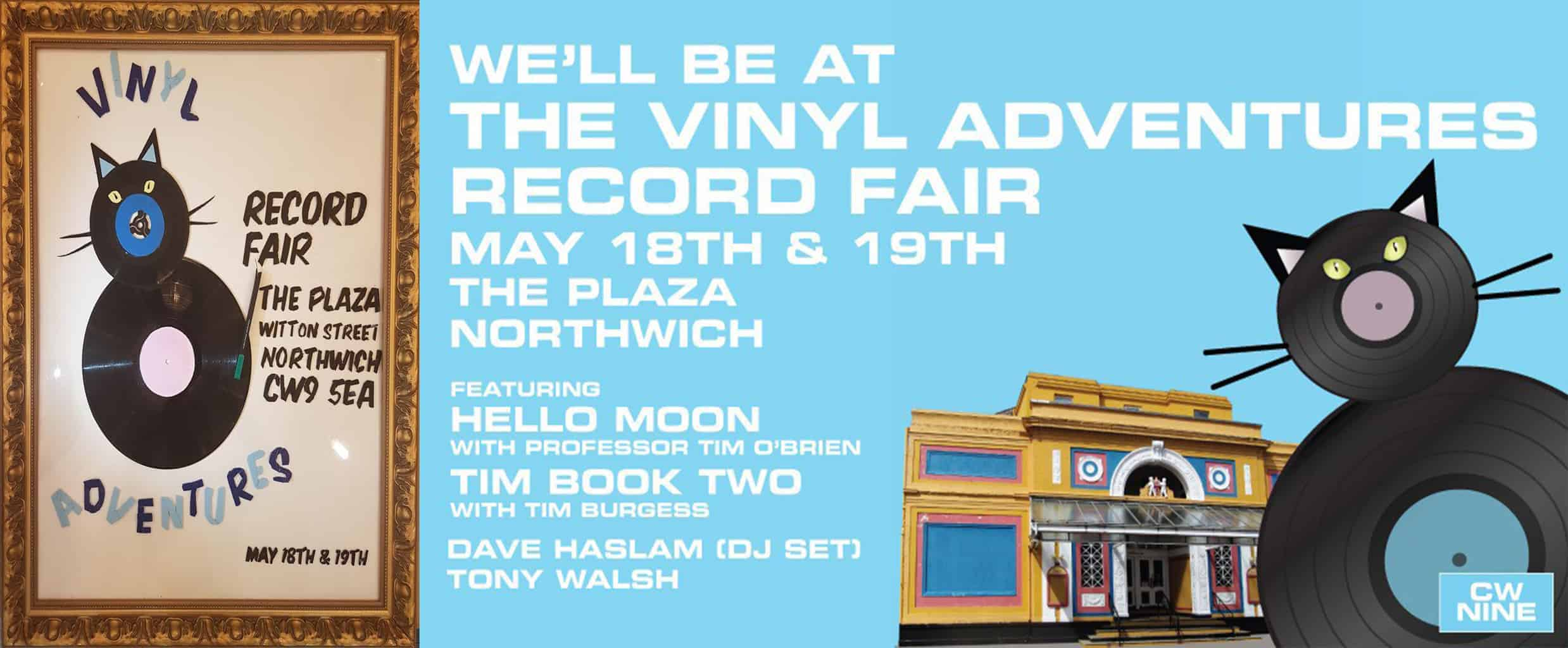vinyl adventures, records fair