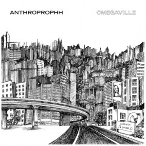 Anthroprophh , Omegaville, Rocket Recordings, Green and Clear Swirl Vinyl, CD.