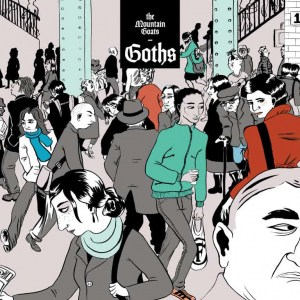 the mountain goats, goths, double vinyl lp, cd