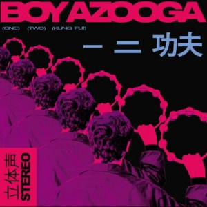Boy Azooga , 1 2 Kung Fu!, Heavenly Recordings ,Pink Vinyl LP, CD.