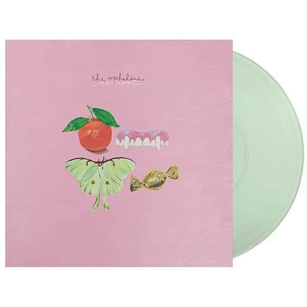 The Ophelias , Almost,Joyful Noise,Green Glass Vinyl, CD.