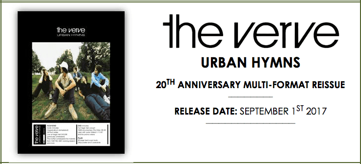 The Verve Urban Hymns 20th Anniversary Box Sets Five