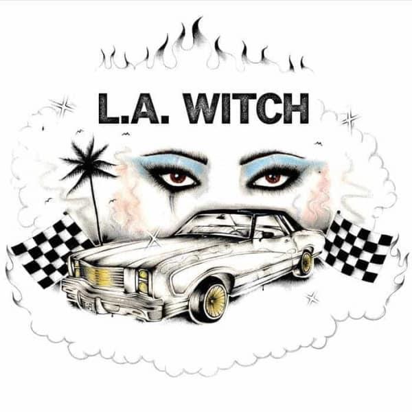 l.a. witch, pink vinyl, cd