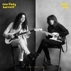 Lotta Sea Lice, Courtney Barnett & Kurt Vile. White Viny LP, Black Vinyl LP, CD.