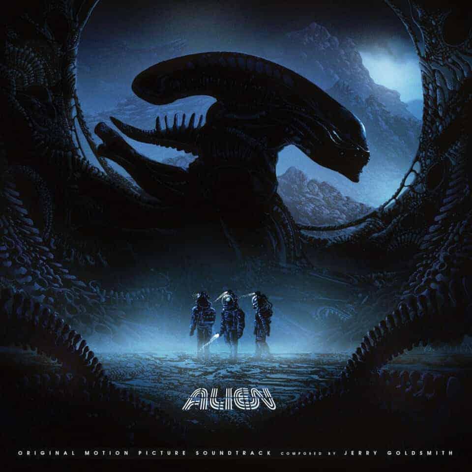 Alien Original Movie Soundtrack Double Vinyl Lp Five