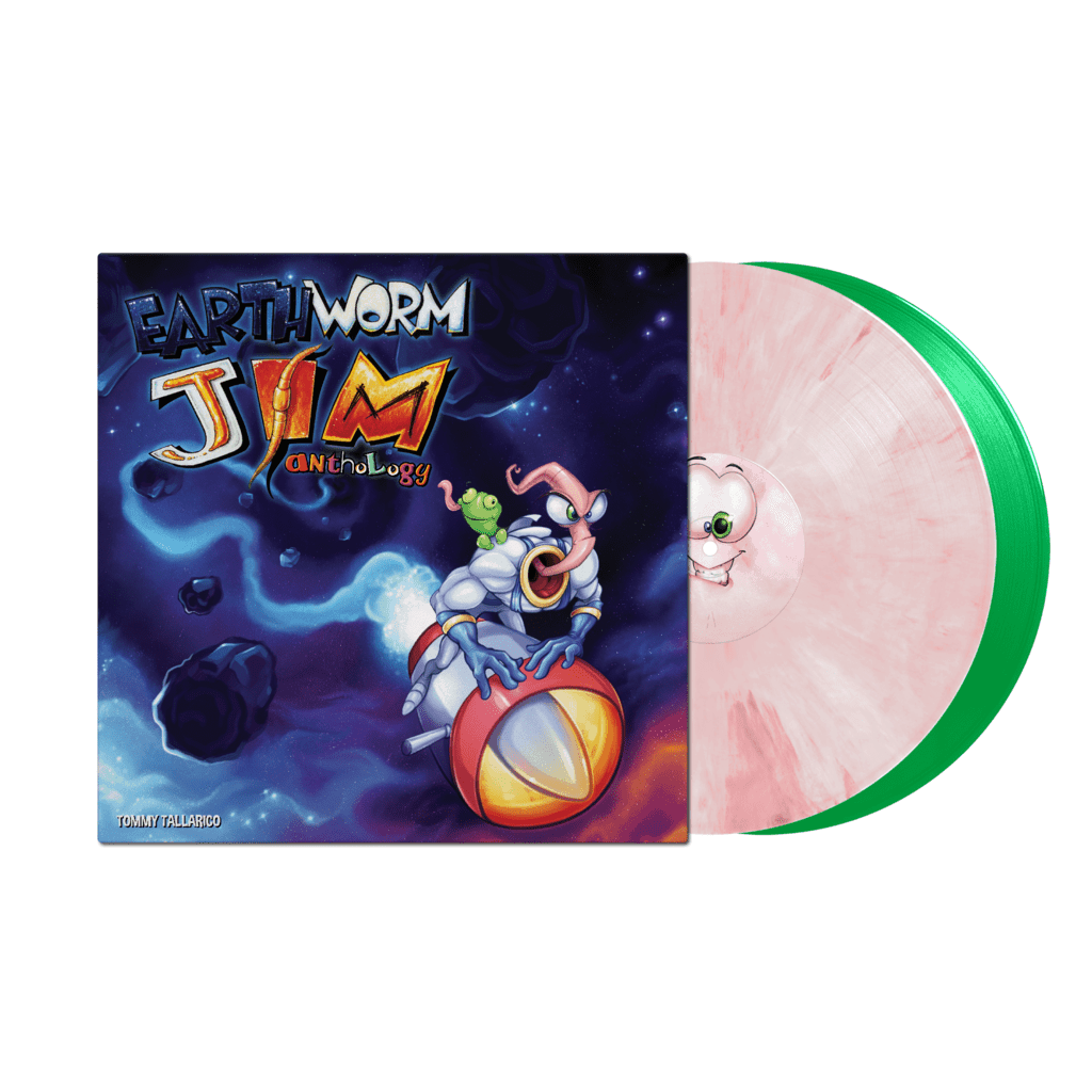 Earthworm Jim Tommy Tallarico 2x Coloured Vinyl Lp Five