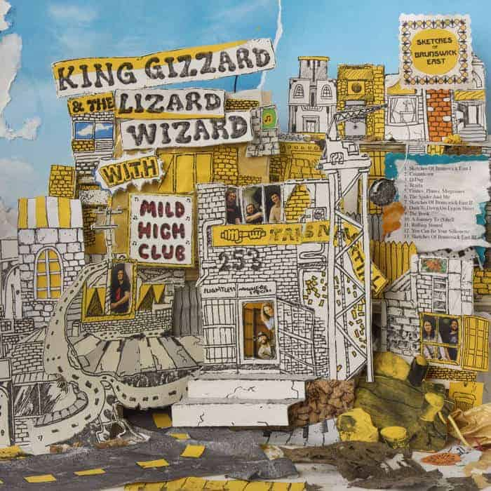 King Gizzard & The Lizard Wizard, Sketches Of Brunswick, Vinyl LP, CD,