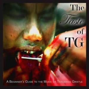 cd, The Taste of TG A Beginner's Guide to the Music of Throbbing Gristle, 2x red vinyl lp