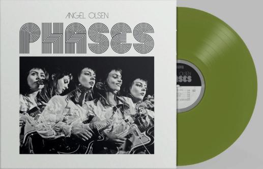 Angel Olsen, Olive Vinyl, Std Vinyl LP, CD.