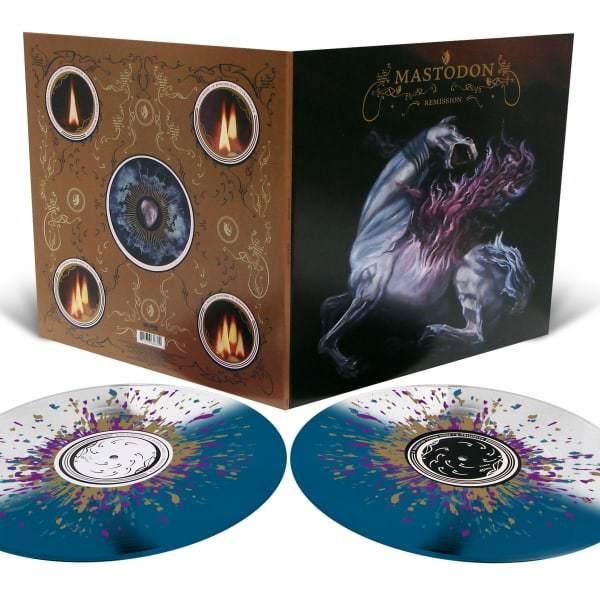 Mastodon , Remission,Relapse,Double Colour Vinyl LP.