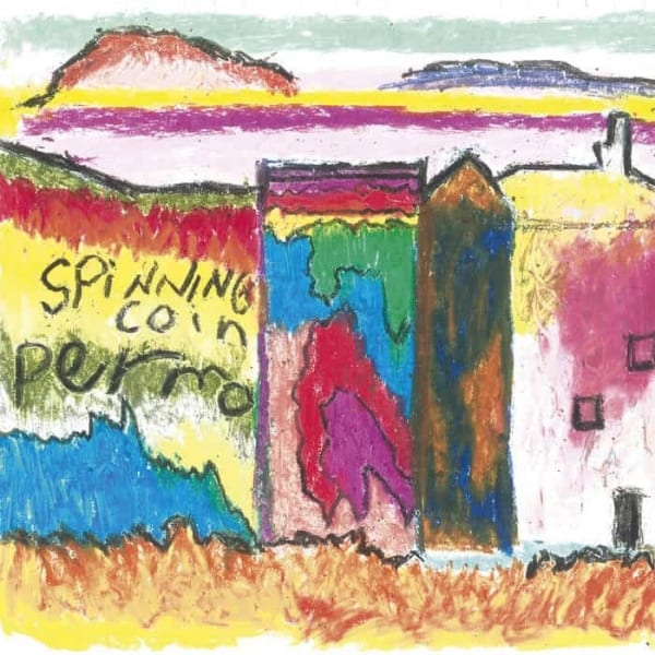 Spinning Coin, Permo, Green Vinyl LP, Std Vinyl, CD.
