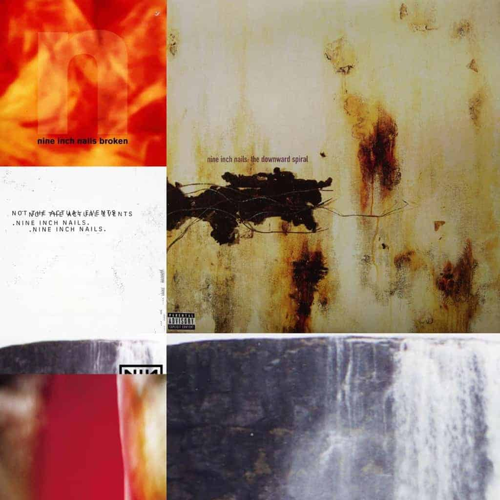 Nine Inch Nails - Vinyl Re-issues - Five Rise Records