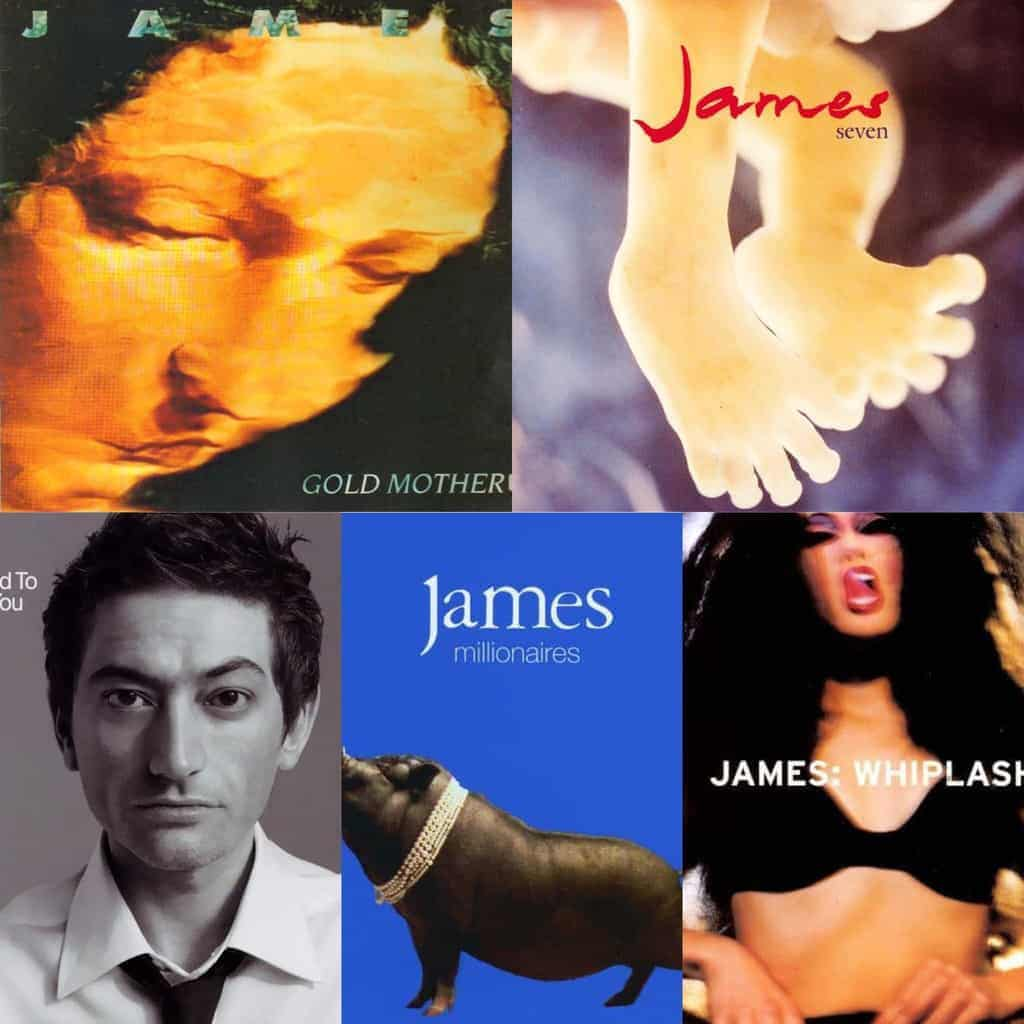 James are set to re-release 5 classic albums on vinyl - Five