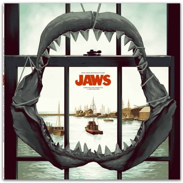 john williams, Jaws, Motion Picture Soundtrack,  Double Vinyl LP