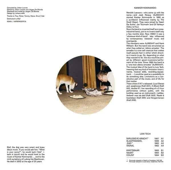 Kanker Kommando, Low Tech 1982-88, Vinyl LP.