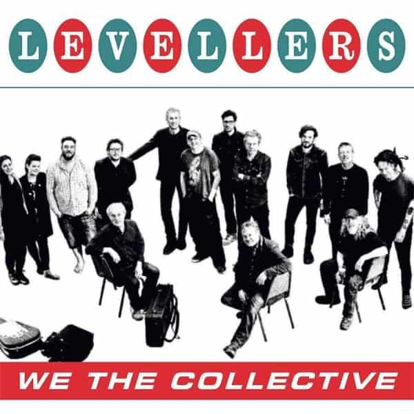 """vinyl lp, The Levellers, We The Collective, Deluxe Vinyl &12"""", Std Vinyl LP, Deluxe 2 CD, CD."""