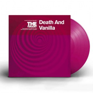 Death And Vanilla, The Tenant, Fire Records ,Magenta Vinyl.
