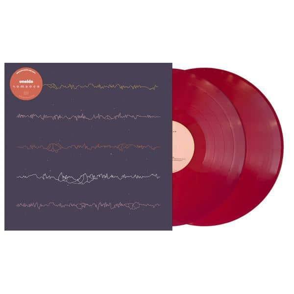 Oneida, Romance, Double Red Vinyl LP, CD.