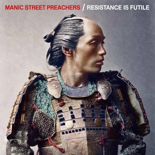 international blue, White Vinyl LP, Std Vinyl LP, Deluxe 2 CD Boxset, CD, Manic Street Preachers, Resistance Is Futile,
