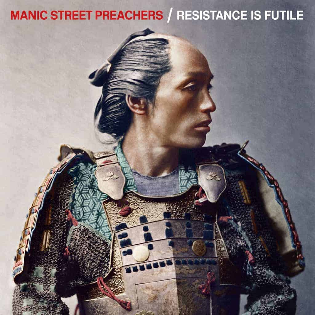 international blue, White Vinyl LP, Std Vinyl LP, Deluxe 2 CD Boxset, CD, Manic Street Preachers, Resistance Is Futile,