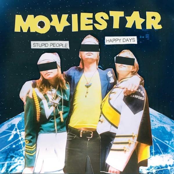 Moviestar, Stupid People Happy Days, vinyl lp, cd