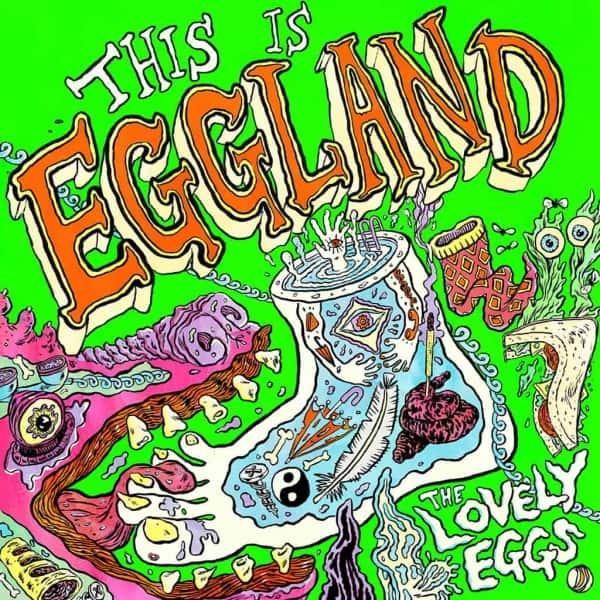 "the lovely eggs, this is eggland, vinyl lp, cd, vinyl lp+7"""