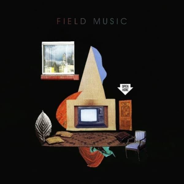 Field Music, Open Here, coloured vinyl lp, std vinyl lp, cd