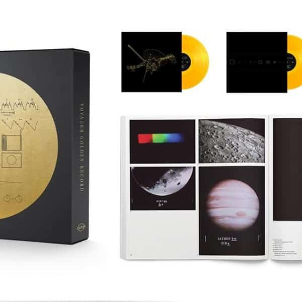 Various Artists , The Voyager Golden Record, 3x Translucent Gold Vinyl.