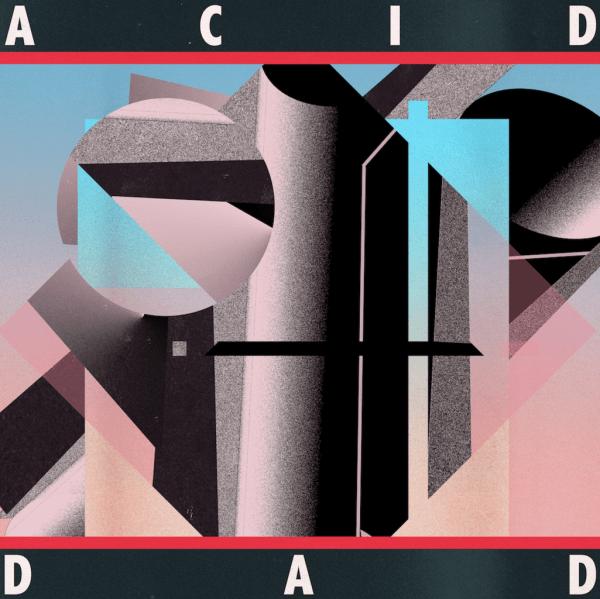 Acid Dad , S/T Acid Dad, Greenway Records,Electric Blue Vinyl LP, CD.