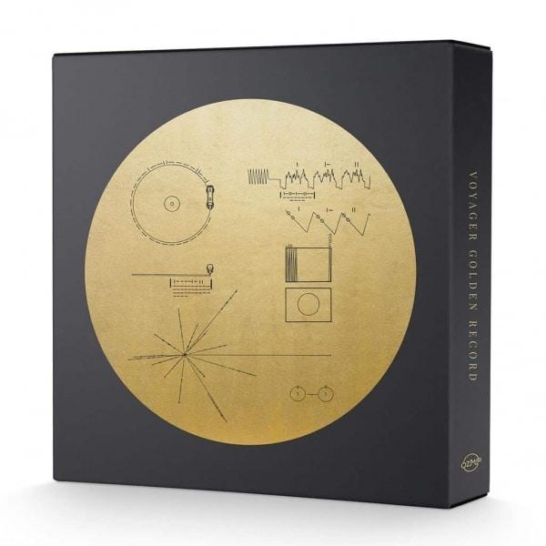2xcd+book, vinyl boxset, Various Artists , The Voyager Golden Record, 3x Translucent Gold Vinyl.