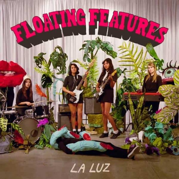 La Luz , Floating Features,Hardly art , Ltd Coloured Vinyl LP, Std Vinyl LP, CD.