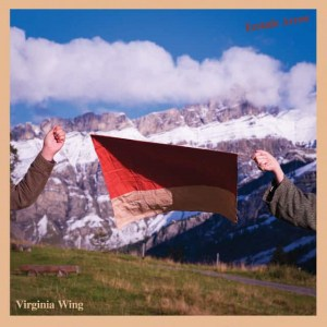 Virginia Wing , Ecstatic Arrow,Fire Records,  Ltd Edition Blue Vinyl, Std Vinyl LP, CD.