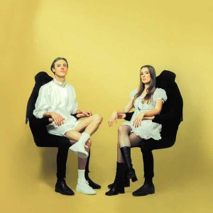 Confidence Man , Confident Music For Confident People,Heavenly Recordings , Vinyl LP, CD.
