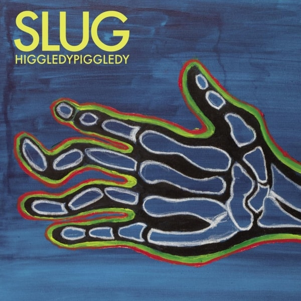 Slug , HiggledyPiggledy,Memphis Industries  , Yellow Vinyl LP, Std Vinyl LP, CD.