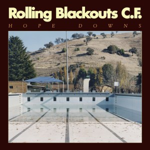 Rolling Blackouts Coastal Fever , Hope Downs, Sub Pop , Marbled Blue Vinyl, Std Vinyl LP, CD.