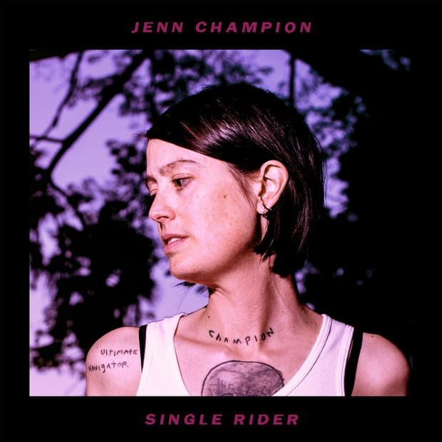 Jenn Champion Single Rider Vinyl Lp Cd Five Rise