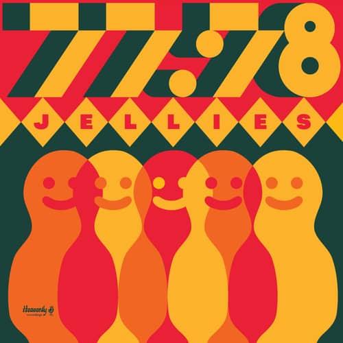 77:78 , Jellies,Heavenly, Orange Vinyl lp, CD.