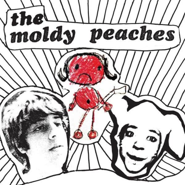 "The Moldy Peaches , S/T, Rough Trade, Red Vinyl LP+7"", CD."