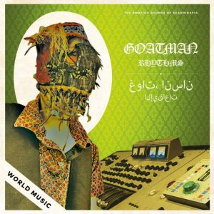Goatman , Rhythms, Rocket Recordings, Indies Only Pink & Black Swirl Vinyl, Std Vinyl LP.