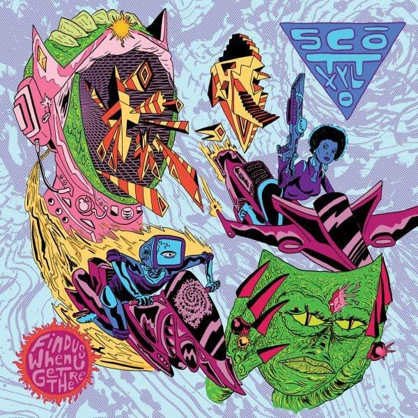 Scott Xylo , Find Us When u Get There,Black Acre, Vinyl LP.