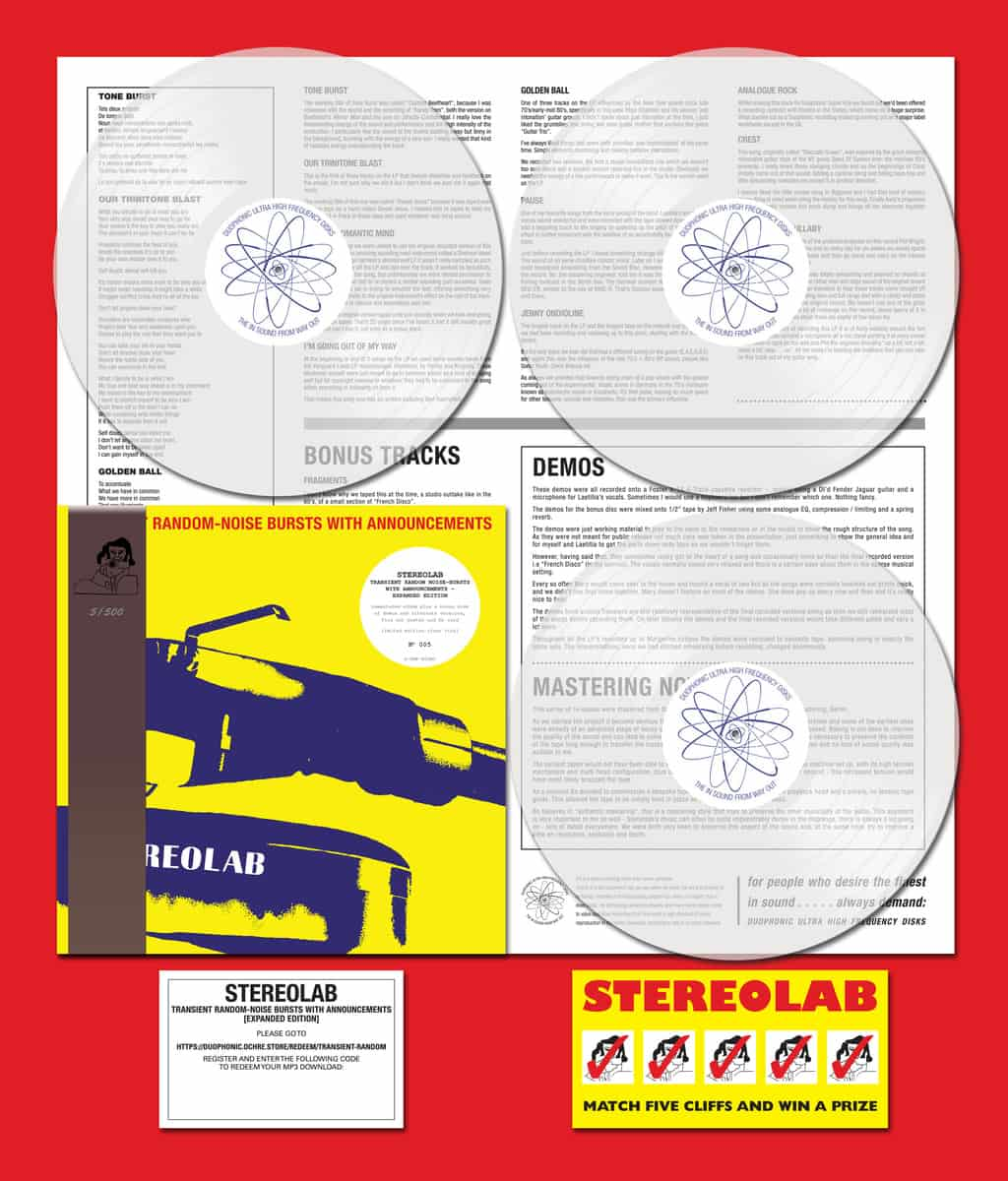 Stereolab Transient Random Noise Bursts With