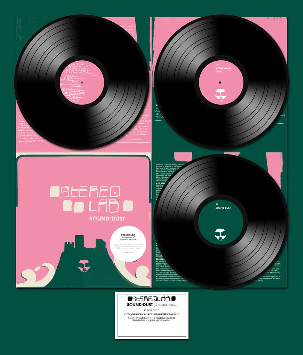 Stereolab Sound Dust Vinyl Lp Amp Cd Five Rise Records
